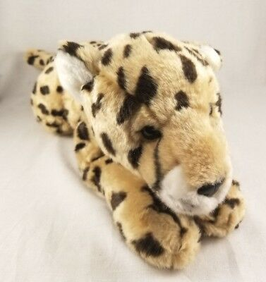 """Animal Alley Toys R Us Spotted Cheetah Leopard Plush Animal 18"""""""