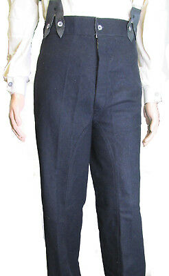 U.S. Civil War Mounted Trousers for Reenactments - NAVY BLUE Various Sizes
