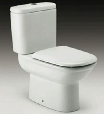 Roca Giralda Replacement WC Toilet Seat with Soft Closing Hinges 801462004