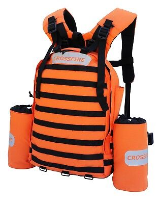 Fire fighting back pack- 3 piece- hi vis -