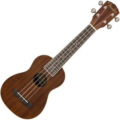 Fender California Coast Seaside Natural Sopran-Ukulele | Neu