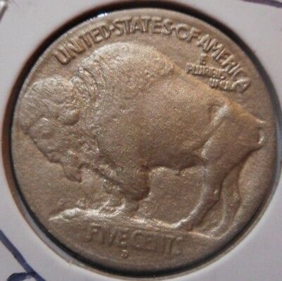 1913 d T1 5c INDIAN HEAD buffaLO NiCkeL * RARE TYPE 1 dENVER REVERSE! * ^hORN!