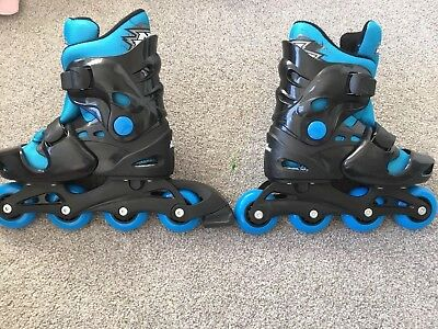 Roller Blades Size 1-4 Adjustable Size - No Fear