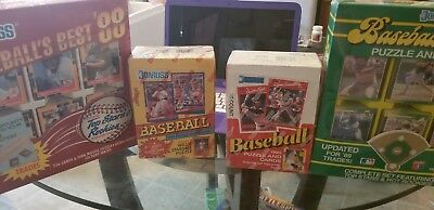 4 Brand new unopened boxes of DonRuss Baseball Cards 1988-1991