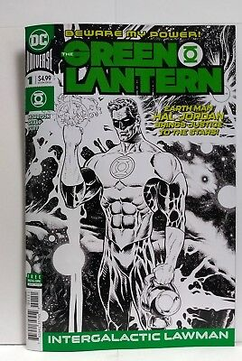 The Green Lantern #1 Midnight Release Variant (DC Comics 2018) Grant Morrison
