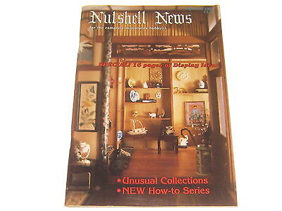 #2394 1987 September  Nutshell News Minatures Magazine For Creators & Collectors