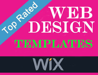 WIX Website Template and Account Setup