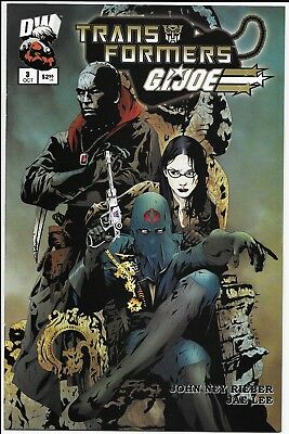 DW TRANSFORMERS GI JOE VOLUME 1 #3 Unread 1st Print VF/NM 2003 Jae Lee