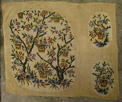 An Antique Tapestry Needlepoint Project for Armchair