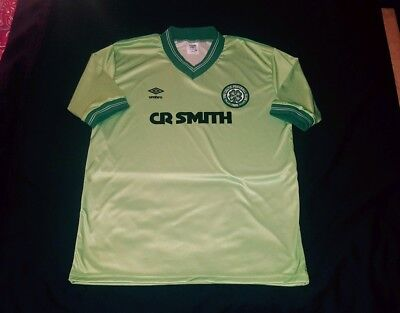 Celtic football shirt love street Jersey vintage CR SMITH Size Extra Large XL