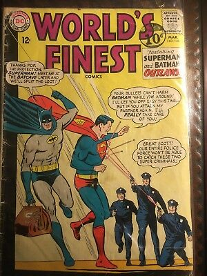 Worlds Finest No 148  D C Comic Mid Run.