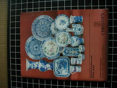 Christies Catalogue- Oriental Ceramics And Works Of Art - 6Th July 1995