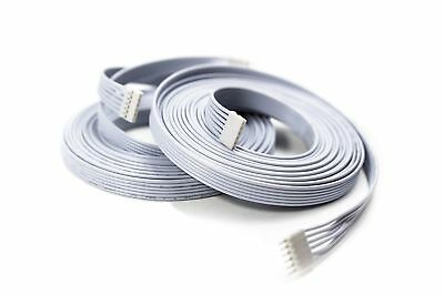 Litcessory Extension Cable for Philips Hue Lightstrip Plus (10ft, 2 Pack, White)