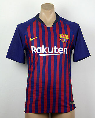 Nike FC Barcelona 2018 19 Home Player Version Match Jersey  MANY SIZES  0f7d09e0ad81c