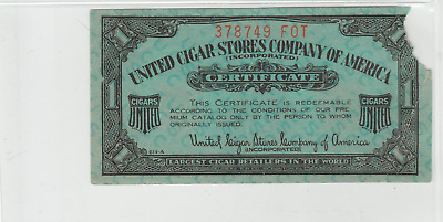 United Cigar Store coupon  378749 FOT