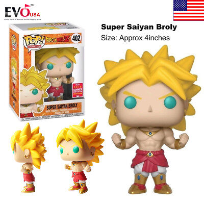 Junko Pop Dragonball Z Super Saiyan Broly #402 SDCC Vinyl Figure Toy