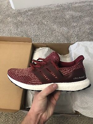 ADIDAS ULTRA BOOST 3.0 Dark Burgundy Size 13 8 10 Condition ... c071d9da5