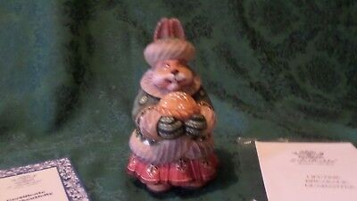 Limited Edition Mrs. Hare Russian Figurine by G. DeBrekht