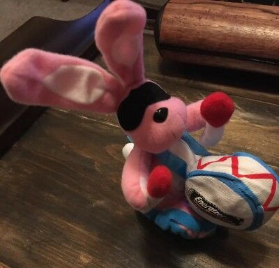 "1997 Battery Promo 7"" Pink Energizer Bunny Plush"
