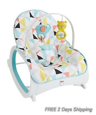 Baby Rocker Infant Toddler Kid Rocker Baby Bouncers Chair Seat Best babies Gift
