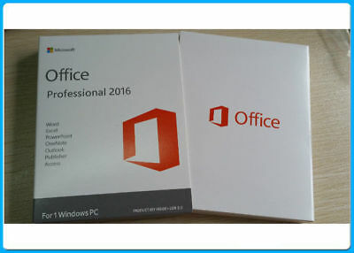 Microsoft Office 2016 Professional Pro Key 32/64 Bit Full Version For Windows PC