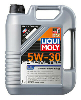 LIQUI MOLY Special Tec LL Synthetic Technology Engine Oil 5W-30 5L fits BMW M...