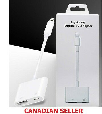 Lightning to Digital AV TV HDMI Cable Adapter For Ipad air iphone  7 8 X 11 Pro