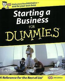 Starting a Business For Dummies by Colin Barrow | Book | condition very good