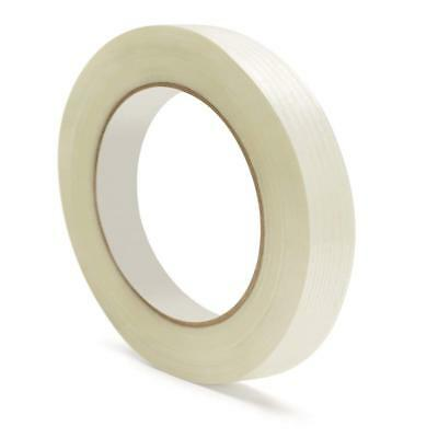 "Filament Tape 3/8"" x 60 Yard 4 Mil Fiberglass Reinforced Packing Tape 288 Rolls"