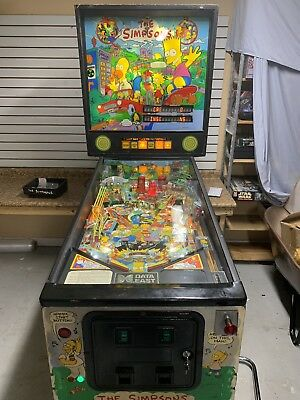 Simpson Data East 100% Working LED Bulbs Super Clean Restored Ready To Play!