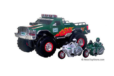 Hess Toy Monster Truck - Lights Sounds Collectible 2007 - New