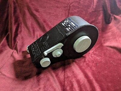 Watson model 100 - 35mm bulk film loader with 10 reusable film cans