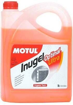 Motul Inugel Optimal Ultra Coolant Anti-Freeze 5L fits BMW 5 Series 520 d (E6...