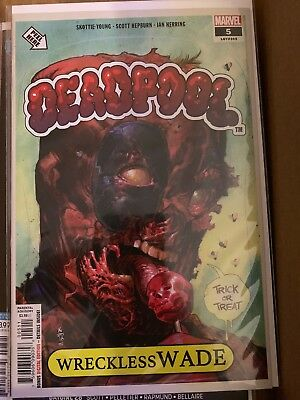 Deadpool #5 Vol 5 2018 Series Nic Klein Cover A Garbage Pail Kids Cover!