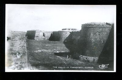 Foto-AK The Walls of Famagusta Cyprus 1930 Zypern