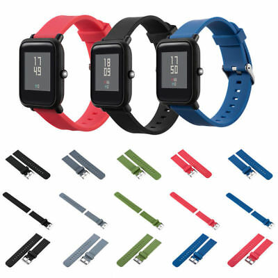 Replacement Silicone Sports Strap Band For Xiaomi HUAMI AMAZFIT Bip Youth Watch