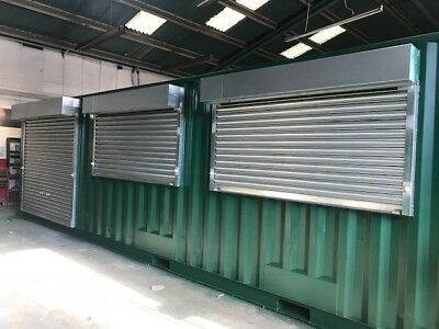 40ft x 8ft  1 trip Shipping Container / Kiosk / Conversion - Manchester