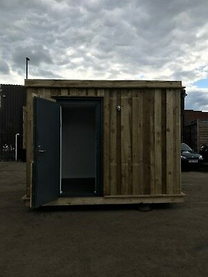 10ft x 8ft Shipping Container Office