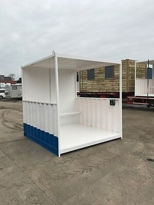 10ft x 8ft Smoking Shelter Shipping Container - Southampton