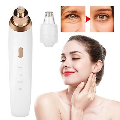 Electronic Blackhead Removal Vacuum Suction Facial Acne Pore Cleaner Extractor