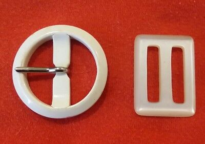 Vintage 40s - 50s Belt Buckles Two VGC