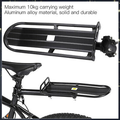 Bicycle Bike Rear Pannier Rack Quick Release Luggage Carrier Shelf Seat Post New