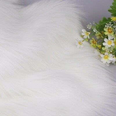 Luxury Long Haired Pile Faux Fur Fabric Furry Upholstery DIY Jewelry Display