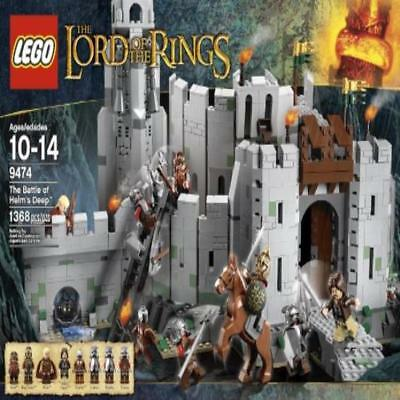 ❤ Toy Building Lego The Lord Of The Rings 9474 The Battle Of Helms Deep Disconti