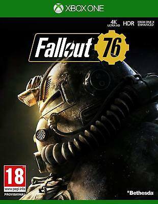 Fallout 76 Xbox One NEW SEALED DISPATCHING TODAY ALL ORDERS PLACED BY 2 P.M.