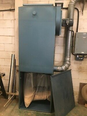 Industrial 3 phase. 5 Bag Dust Extractor