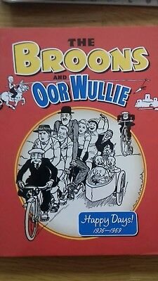 The Broons and Oor Wullie  happy days 1936 - 1969
