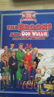The Broons and Oor Wullie rare vintage comic strips