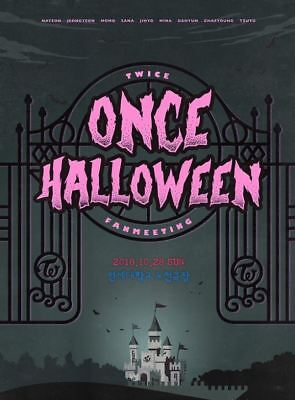 TWICE FANMEETING ONCE HALLOWEEN OFFICIAL GOODS PVC Film A ver. SEALED
