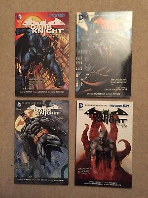 Batman The Dark Knight New 52 Volumes 1-4 Graphic Novels